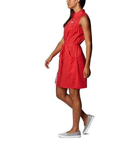 Columbia Women's Bonehead Stretch Sleeveless Dress, Red Spark Swiss Dot, XX-Large image https://images.buyr.com/OV18L7E_7B902C4E68E6DFBFC1C08D9277EAE1CDB7696086A1E539B5349A4DB34A77E349-4fVAQnNkcw4m33loMrBc_g.jpg1