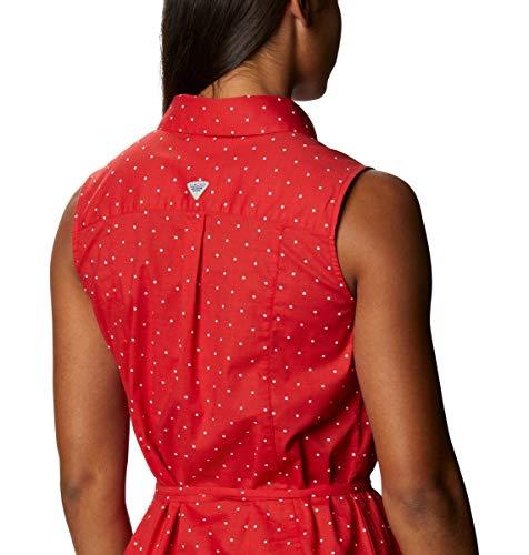 Columbia Women's Bonehead Stretch Sleeveless Dress, Red Spark Swiss Dot, XX-Large image https://images.buyr.com/OV18L7E_7B902C4E68E6DFBFC1C08D9277EAE1CDB7696086A1E539B5349A4DB34A77E349-4ml_FuPfx0-B7ddXMMU4_g.jpg1