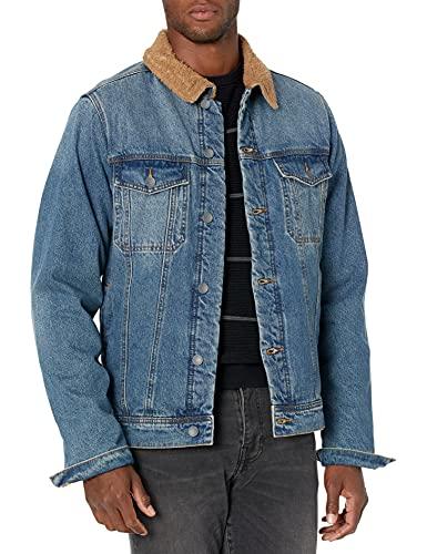 Billabong Men's Barlow Trucker Jacket, Ocean wash, L image 1
