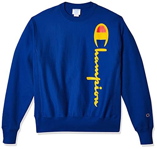 Champion Men's Reverse Weave Sweatshirt,surf the web,X LARGE image 1