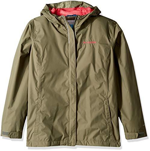 Columbia Girls' Youth Waterproof & Breathable Arcadia Jacket, Cypress, XX-Small image 1