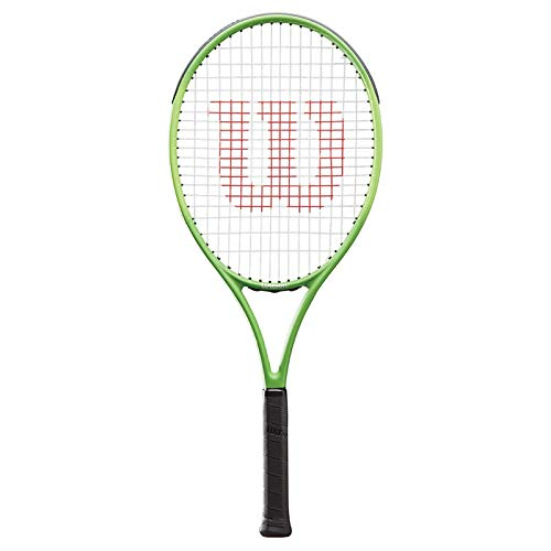 Wilson Blade Feel 26 Inch Pre-Strung Junior Tennis Racquet - Bundled with a 3-Pack of Black Overgrips and 1 Can of Tennis Balls (3 Balls) (Best Racquet for Young Beginner Players) image https://images.buyr.com/OV18L7E_87D96C6530378E7A2ECF3BF87960E5444744170BF69D0A3059A431EFDE0115F8-Y0TtN1jsPpq2Qch5G0MtIQ.jpg1