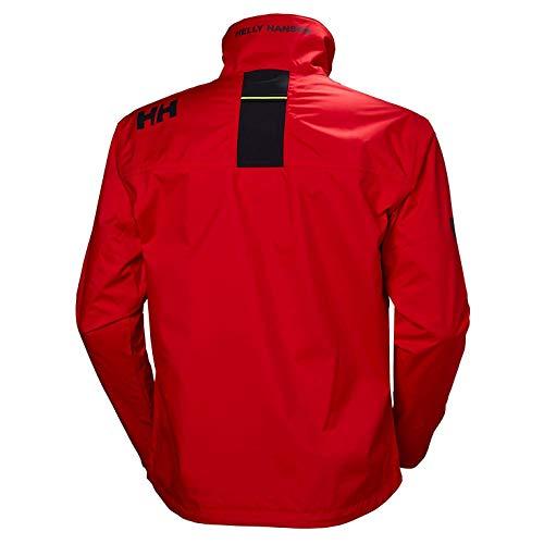Helly Hansen Men's Crew Waterproof Windproof Breathable Rain Coat Jacket, 222 Alert Red, X-Small image https://images.buyr.com/OV18L7E_885F23618ED59A7A8614399518B7EDB436AE2AE88DAE4085EF1E1F0A1CD39F01-fj7fvYZjFr8DZikQpAiTQQ.jpg1