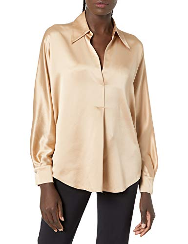 Vince Women's Shaped Collar Popover image 1