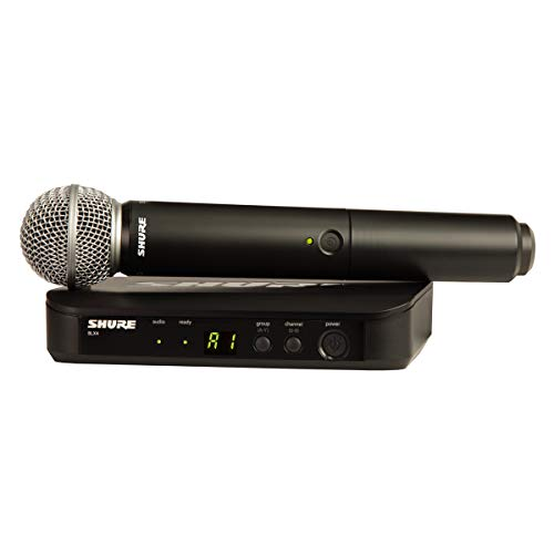 Shure BLX24/SM58-H10 Wireless Handheld Dynamic Microphone System image 1