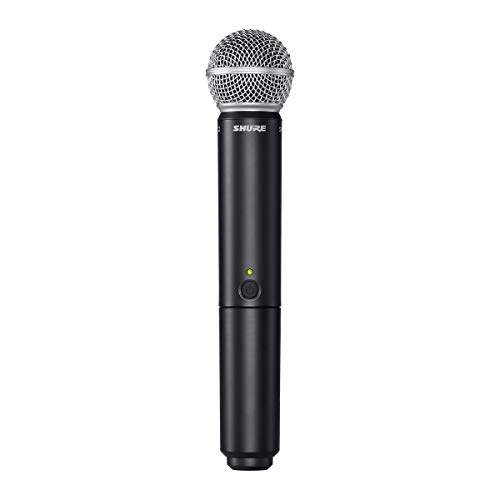 Shure BLX24/SM58-H10 Wireless Handheld Dynamic Microphone System image https://images.buyr.com/OV18L7E_8AEE6E24FE2313BDF34EF968918CC29455CE074B5CAFA4FC7B4BA0FD674DBEDE-popcDFgF7pUX7IFRB0f2pA.jpg1