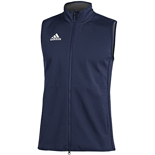 adidas Game Mode Vest - Men's Casual 5XLT Team Navy Blue/White image 1
