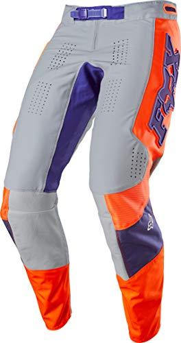 2020 Fox Racing 360 Linc Pants-Grey/Orange-32 image 1