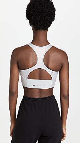 adidas by Stella McCartney Women's Shine Crop Top, Hazy Rose, Silver, Grey, Metallic, Small image https://images.buyr.com/OV18L7E_939E941263051DD44449F0ED2ED693CC3527D160F106D3FAF66DEDE6C1EE40F0-SH3n7rYLVyxFfLlSpydfDQ.jpg1