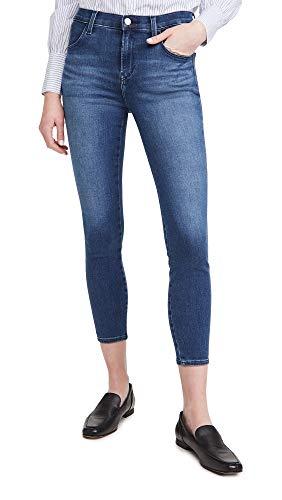 J Brand Women's Alana High Rise Crop Skinny Jeans, Intrepid, Blue, 23 image 1