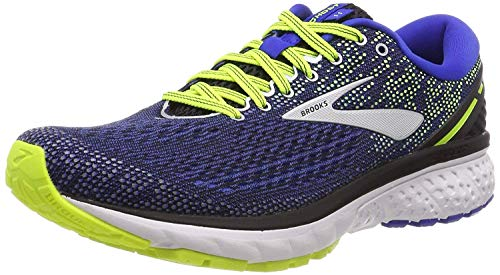 Brooks Men's Ghost 11 Running Shoes, Black (Black/Blue/Nightlife 069), 7.5 UK image 1