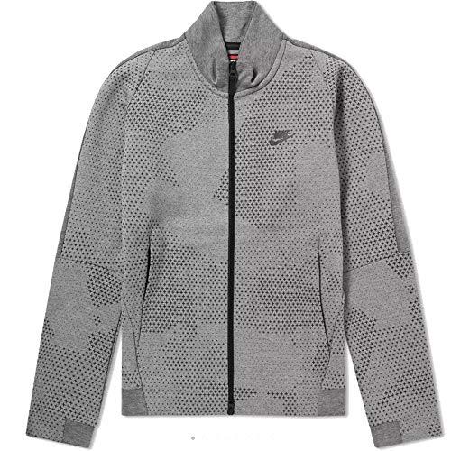 Nike Men's Sportswear Tech Fleece Jacket GX 1.0 886172 091 694 (Carbon Heather, s) image 1