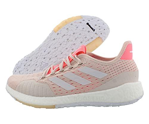 adidas Women's Pulseboost HD Summer Ready Running Shoe, Echo Pink/White/Light Red, 7.5 M US image 1