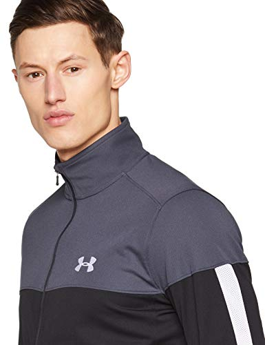 Under Armour Men's Sportstyle Pique Jacket , Stealth Gray (008)/White , Small image https://images.buyr.com/OV18L7E_9C77AFFEB13367ACDA517BF63868C60C26DFCD39E26E664ED63730DB3A448CA-6jk0V7jxQRSgMjkytOd49A.jpg1