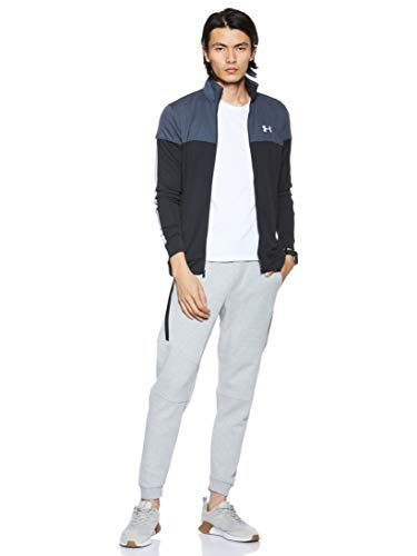 Under Armour Men's Sportstyle Pique Jacket , Stealth Gray (008)/White , Small image https://images.buyr.com/OV18L7E_9C77AFFEB13367ACDA517BF63868C60C26DFCD39E26E664ED63730DB3A448CA-jlcCXk0ID3ciGiIoz35bQg.jpg1