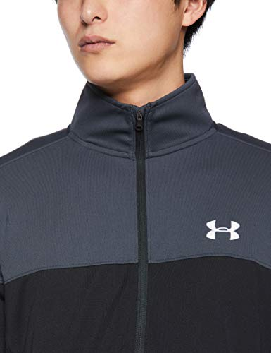 Under Armour Men's Sportstyle Pique Jacket , Stealth Gray (008)/White , Small image https://images.buyr.com/OV18L7E_9C77AFFEB13367ACDA517BF63868C60C26DFCD39E26E664ED63730DB3A448CA-ltaJY4eNEP6u6bd_QKpqoQ.jpg1