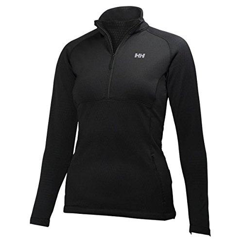 Helly-Hansen Women's Vertex Stretch Midlayer, Black, Large image 1