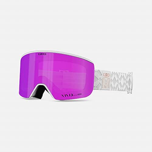 Giro Ella Womens Snow Goggle - White Limitless Strap with Vivid Pink/Vivid Infrared Lenses image 1