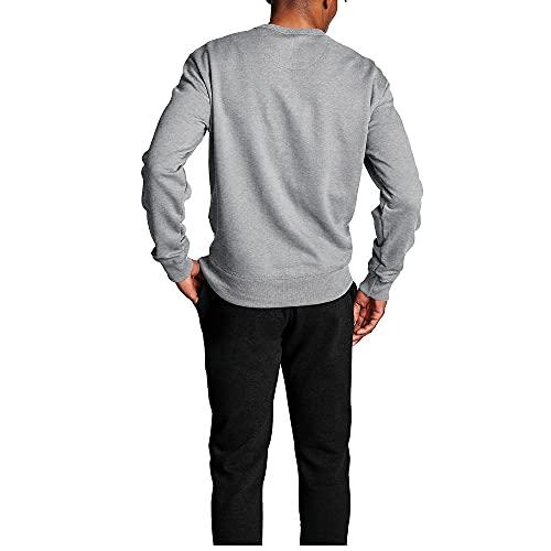 Champion Men's Powerblend Fleece Crew, Script Logo, Oxford Gray-Y06794, X-Small image https://images.buyr.com/OV18L7E_9DE22503CACE49BC246C83A7954443633504534A484CD17799030CD37441BE95-U-HjfumC9QEIino_hqMbaQ.jpg1