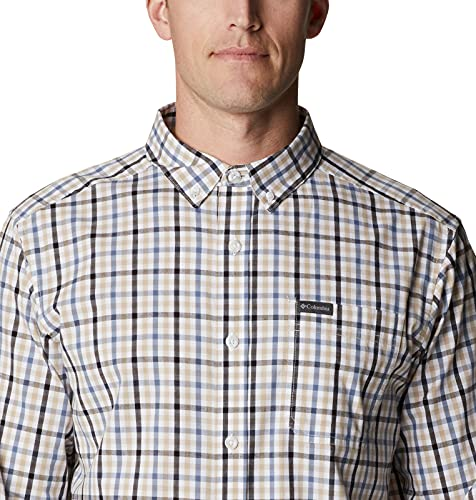 Columbia Men's Rapid Rivers II Long Sleeve Shirt, Bluestone Multi Gingham, Small image https://images.buyr.com/OV18L7E_9E7672E82258E573A0263A43696DABB7C56097901FAF9DF861CB4F2511F41986-tDMVfxuvs5b0ffkUX43DVA.jpg1