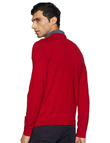 Calvin Klein Men's Merino Sweater V-Neck Solid, Jester Red, Large image https://images.buyr.com/OV18L7E_9F626EF3A924055C3E322752DBBCE868CC7238C7BE654C6265E1F0AF47580067-yZkhpnQq7rgORxIQf1St9A.jpg1
