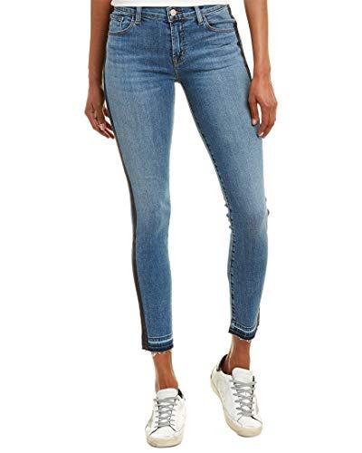 J Brand Jeans Women's 811 MID Rise Skinny, Linear, 23 image 1