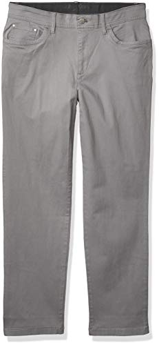 Calvin Klein Men's Stretch Sateen Casual Pants, Convoy Infinite Flex Waistband, 30x30 image 1