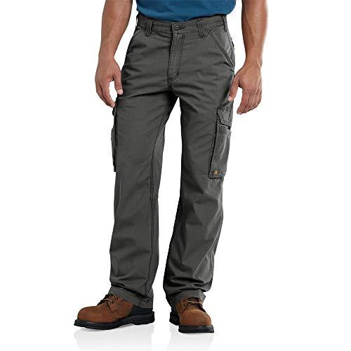 Carhartt Men's Force Tappen Cargo Pant, Gravel, 38W X 30L image 1