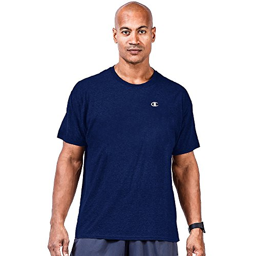 Champion Big & Tall Men's Short Sleeve Jersey Tee CH305 6XL, Navy image 1