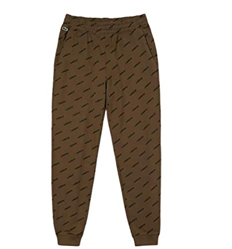 Lacoste Men's Live Print Sweatpants (Medium) Brown image 1