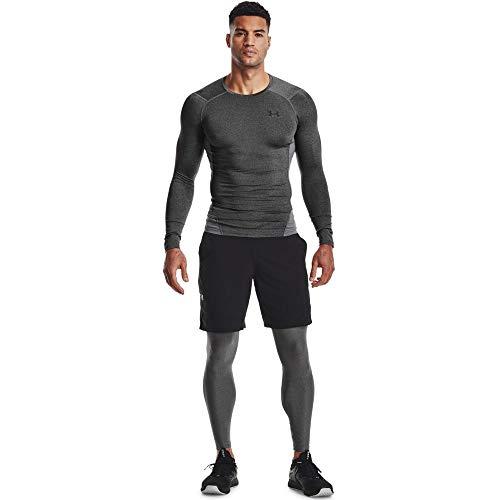 Under Armour Men's Armour HeatGear Leggings , Carbon Heather (090)/Black, Large image https://images.buyr.com/OV18L7E_AF00E6A834667E9D3FC25542A13E7B93F3C4642137CA0372E643618DB44781EC-HnOm729ZRRJaNO_VffNAVQ.jpg1