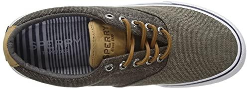 Sperry Men's Striper II CVO Nautical Sneaker, Olive Tonal, 4.5 image https://images.buyr.com/OV18L7E_AFBE71B516E0FE8A095AC07F4625EB7365F904047CBC7BBA871400CDFE218AA7-My_carjDcFSRxcDykT9vgA.jpg1