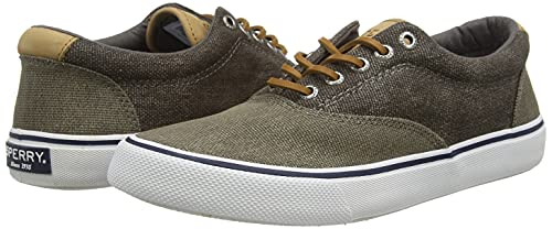 Sperry Men's Striper II CVO Nautical Sneaker, Olive Tonal, 4.5 image https://images.buyr.com/OV18L7E_AFBE71B516E0FE8A095AC07F4625EB7365F904047CBC7BBA871400CDFE218AA7-tE6RopyqfWGYE3r3DCi2yg.jpg1