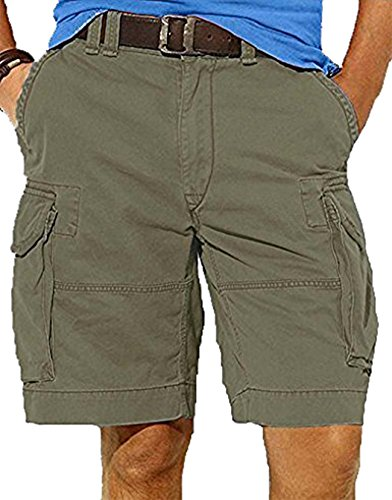 Polo Ralph Lauren Mens Gellar Fatigue Cargo Shorts, Olive, 29 image 1