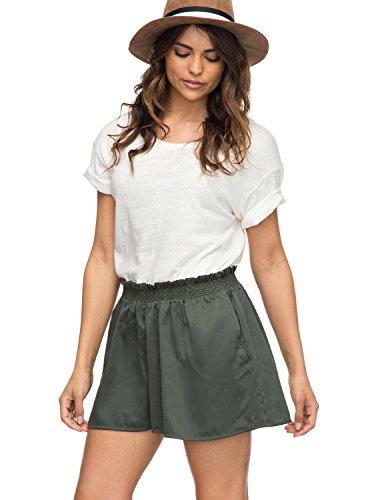 Roxy Women's Junior Dream of Canyon Short Shorts, Thyme, XS image 1