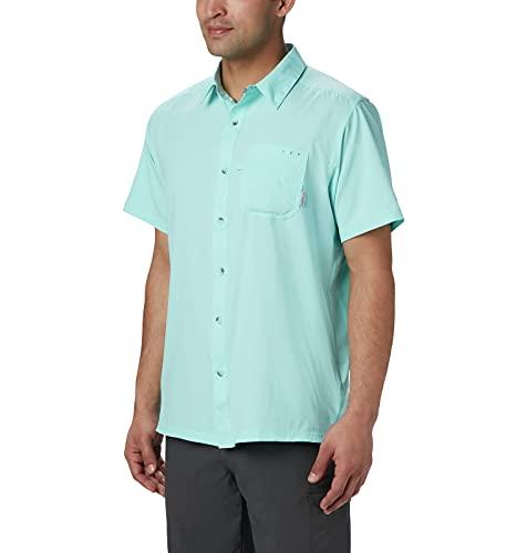 Columbia Men's Big and Tall Slack Tide Camp Shirt, Gulf Stream, 5X image 1