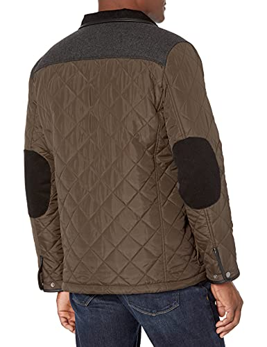 Cole Haan Men's Quilted Jacket with Corduroy Collar, Olive, Small image https://images.buyr.com/OV18L7E_B89B733871DF011DBFE86F078D176303F3E247562CF80776409ADA63FD9BF347-V6R-lcEj1yiKbgWgjI6-gQ.jpg1