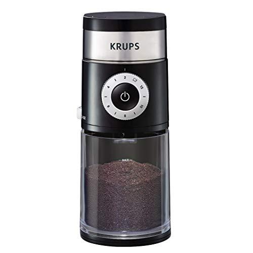 KRUPS Precision Grinder Flat Burr Coffee for Drip/Espresso/PourOver/ColdBrew, 12 Cup, Black image 1