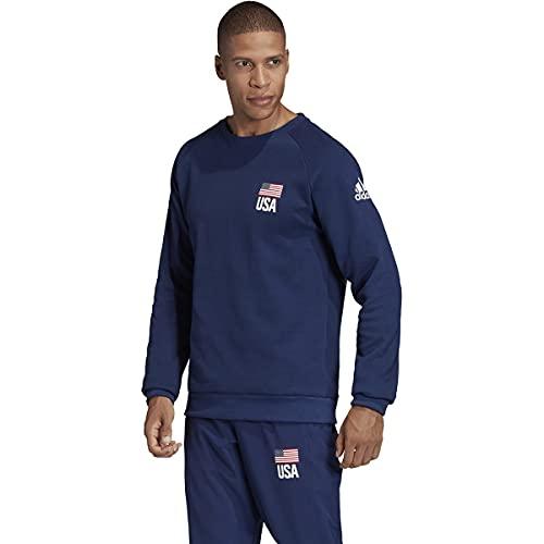adidas Men's Essentials 3-Stripes Fleece Crew Sweatshirt (Navy Blue, Medium) image https://images.buyr.com/OV18L7E_B98C15E749000A369276B27F491C35440E1BC4ED1E806B496CC5F8F3C65869F2-WlsBUc1VNIFS_-Lx-yvmZw.jpg1