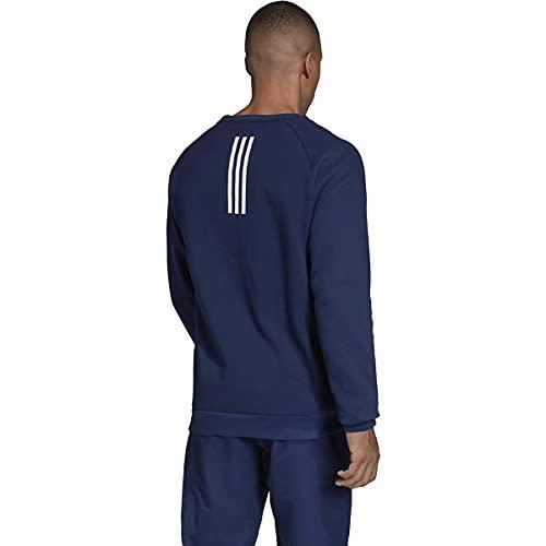 adidas Men's Essentials 3-Stripes Fleece Crew Sweatshirt (Navy Blue, Medium) image https://images.buyr.com/OV18L7E_B98C15E749000A369276B27F491C35440E1BC4ED1E806B496CC5F8F3C65869F2-zvewotGNBrbx713VIaFO3A.jpg1