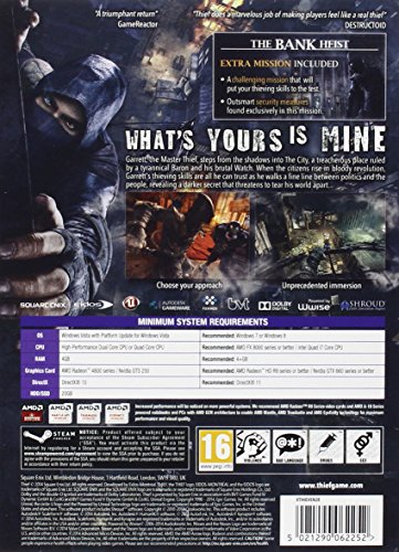 Thief - Limited Edition Metal Case with Bonus Bank Heist Mission (PC DVD) image https://images.buyr.com/OV18L7E_BAAEEB2522ED2A448B4C8FD31181442BACBDD9131919535CAAD5A14DB7885AB0-cUjdE16PnVhEQDB9zpNfOA.jpg1