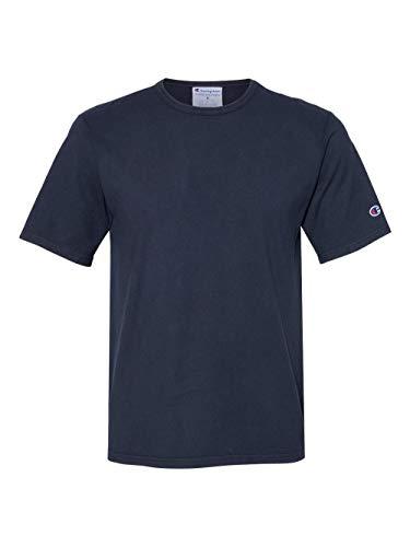 Champion Mens Garment Dyed Short Sleeve T-Shirt (CD100) -Navy -L image https://images.buyr.com/OV18L7E_BB9FF9C76C0FDE5CE70ECDF09C9AB831DA28D2DC2994D376D90F7A13A087C49D-SqFNiNYycjr-iVQgHI1G_A.jpg1