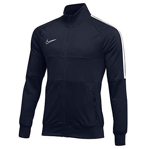 Nike Men's Academy 19 Dri-Fit Track Jacket (Obsidian/White, Large) image 1