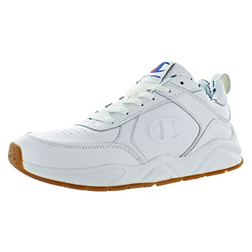 Champion Mens 93EIGHTEEN Shoe White Leather Size 12 image 1