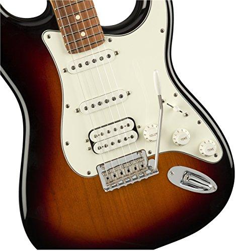 Fender Player Stratocaster HSS Electric Guitar - Pau Ferro Fingerboard - 3 Color Suburst image https://images.buyr.com/OV18L7E_BEFDE48BA013FFAF8AF46F16D252E521F05393C86592C885639EA397F1E2F458-G5HqiAZASNvLm0eISa378A.jpg1