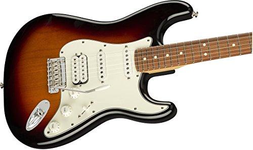 Fender Player Stratocaster HSS Electric Guitar - Pau Ferro Fingerboard - 3 Color Suburst image https://images.buyr.com/OV18L7E_BEFDE48BA013FFAF8AF46F16D252E521F05393C86592C885639EA397F1E2F458-t8B0xp2h8NEzQecnpDDdZA.jpg1