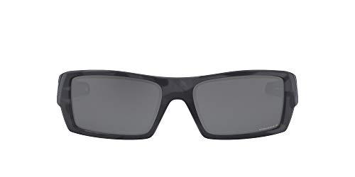 Oakley Men's OO9014 Gascan Rectangular Sunglasses, Matte Black Camo/Prizm Black Polarized, 60 mm image 1