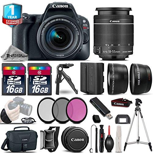 Canon EOS Rebel SL2 DSLR Camera + 18-55mm IS STM + 1yr Warranty -64GB Kit Bundle image 1