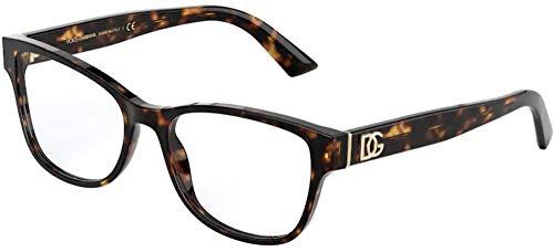 Dolce & Gabbana DG MONOGRAM DG 3326 HAVANA 54/17/140 women Eyewear Frame image 1