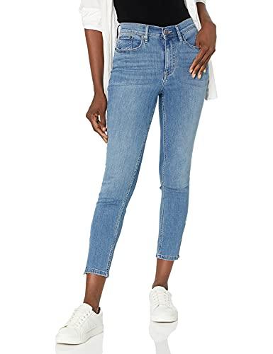 Calvin Klein Jeans Women's Hi Rise Skinny Ankle W/Zipper Jean, Laguna, 31 image 1